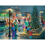 Puzzle  Sunsout-39497 Pièces XXL - Holiday Lights
