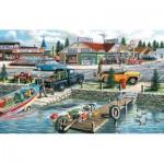 Puzzle  Sunsout-39540 Ken Zylla - Pelican Lake