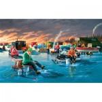 Puzzle  Sunsout-39565 Pièces XXL - Fishing Contest