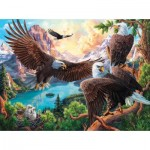 Puzzle  Sunsout-42954 Eagle Dance