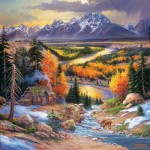 Puzzle  Sunsout-44336 Pièces XXL - Fall Retreat