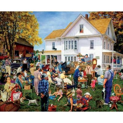 Puzzle Sunsout-44637 Susan Brabeau - Farmhouse Auction