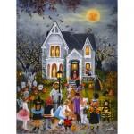 Puzzle  Sunsout-45436 Pièces XXL - Susan Rios - Scary Night