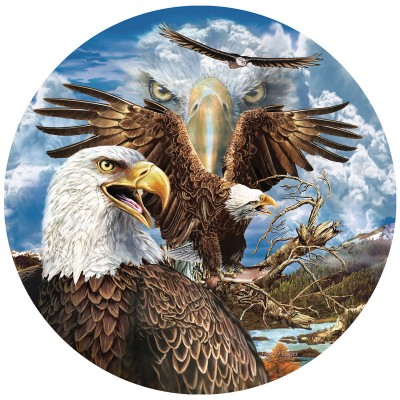 Puzzle Sunsout-46591 Steven Michael Gardner - 13 Eagles