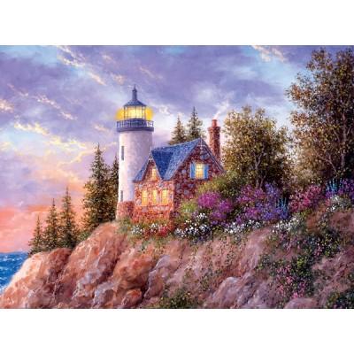 Puzzle Sunsout-48396 Dennis Lewan - Beacon to the Sea
