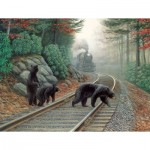 Puzzle  Sunsout-48804 Pièces XXL - Bear Tracks
