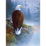 Puzzle  Sunsout-49032 Jerry Gadamus - Eagle in the Mist