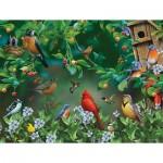 Puzzle  Sunsout-49046 Pièces XXL - Bird Festival