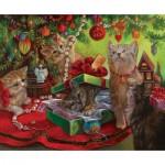 Puzzle  Sunsout-49070 Sandra Bergeron - Kissmass Play Toys