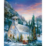 Puzzle  Sunsout-49103 Sandra  Bergeron - Yuletide Celebration