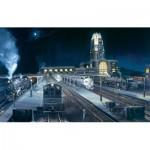 Puzzle  Sunsout-49404 Larry Fisher - Midnight Buffalo