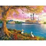 Puzzle  Sunsout-50030 Pièces XXL - Mississippi Queen