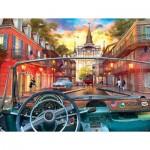 Puzzle  Sunsout-50070 Pièces XXL - Window on New Orleans