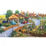 Puzzle  Sunsout-50410 Michael Herring - Bridge Motors