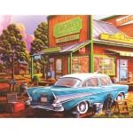 Puzzle  Sunsout-51327 Pièces XXL - Geno Peoples - Aunt Sheila's Cafe