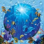 Puzzle  Sunsout-52345 Pièces XXL - Dolphin Castle