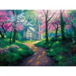Puzzle  Sunsout-52915 Mark Keathley - Spring Chapel