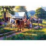 Puzzle  Sunsout-53048 Mark Keathley - Day at the Fair
