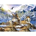 Puzzle  Sunsout-54929 Pièces XXL - Snow Wolf