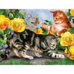 Puzzle  Sunsout-54933 Pièces XXL - Kitten Play