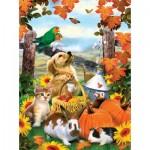Puzzle  Sunsout-54946 Howard Robinson - Autumn Harvest
