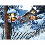 Puzzle  Sunsout-55752 Pièces XXL - Winter Beacon