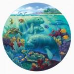 Puzzle  Sunsout-55968 Pièces XXL - Manatee Beach