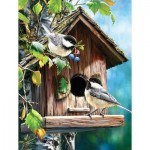 Puzzle  Sunsout-57172 Pièces XXL - At Home Sweet Home