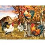 Puzzle  Sunsout-57179 Pièces XXL - Rooster Farm