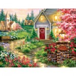 Puzzle  Sunsout-57225 Pièces XXL - Dona Gelsinger - Serenity Lane