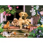 Puzzle  Sunsout-59326 Pièces XXL - Summer on the Porch