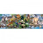 Puzzle  Sunsout-59394 Pièces XXL - Around the World