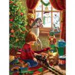Puzzle  Sunsout-59801 Pièces XXL - Boyhood Christmas