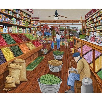 Puzzle Sunsout-60338 Pièces XXL - The Shop Keeper