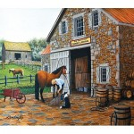Puzzle  Sunsout-60340 Pièces XXL - Coppery and Stables