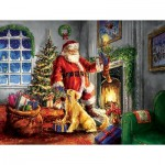 Puzzle  Sunsout-60620 Pièces XXL - Helping Santa
