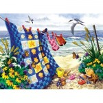 Puzzle  Sunsout-62956 Nancy Wernersbach - Seaside Summer