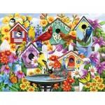 Puzzle  Sunsout-62998 Nancy Wernerbach - Garden Neighbors