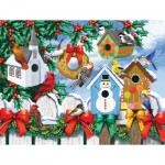 Puzzle  Sunsout-63036 Pièces XXL - Winter Backyard