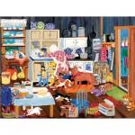 Puzzle  Sunsout-64601 Pièces XXL - Grandma's Kitchen