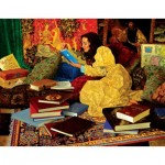 Puzzle  Sunsout-67577 Pièces XXL - James Christensen - A Place of her Own