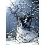 Puzzle  Sunsout-67623 Nene Thomas - Queen of Owls