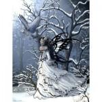 Puzzle  Sunsout-67740 Pièces XXL - Nene Thomas - Queen of Owls