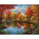 Puzzle  Sunsout-69621 Pièces XXL - Abraham Hunter - Autumn Tranquility