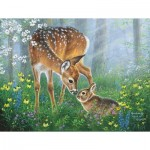 Puzzle  Sunsout-69641 Pièces XXL - Forest Friendship