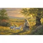 Puzzle  Sunsout-69702 Abraham Hunter - Come to Him