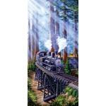 Puzzle  Sunsout-69931 Marc Desobeau - Redwood Sidewinder