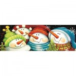 Puzzle  Sunsout-70136 Pièces XXL - Merry Folks Greeting You
