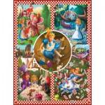 Puzzle  Sunsout-75280 Mark Brill - Alice au Pays des Merveilles