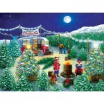 Puzzle  Sunsout-76141 Pièces XXL - A Lot of Christmas Trees